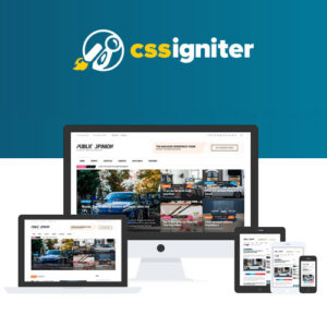 CSS Igniter Public Opinion WordPress Theme