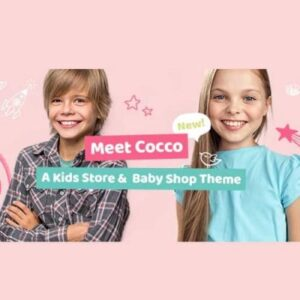 Cocco Kids Store and Baby Shop Theme