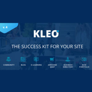 KLEO Pro Community Focused – Multi-Purpose BuddyPress Theme