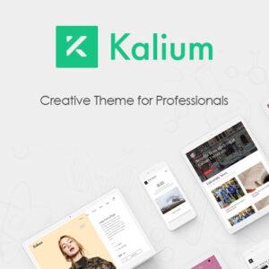Kalium Creative Theme for Professionals