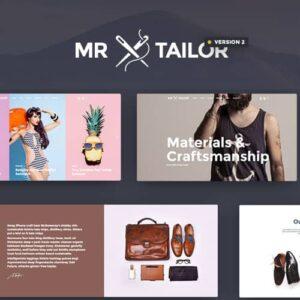 Mr. Tailor Responsive WooCommerce Theme