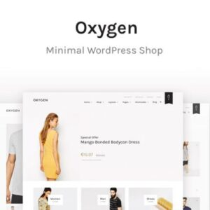 Oxygen WooCommerce WordPress Theme