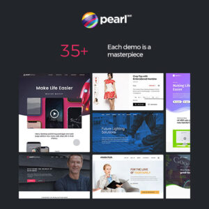 Pearl Business Corporate Business WordPress Theme for Businesses